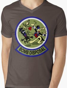 WWII Bomb Disposal Mens V-Neck T-Shirt