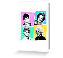 Golden Girls POP! Greeting Card