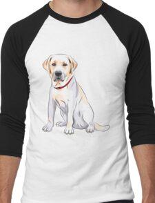 dog #3 Men's Baseball ¾ T-Shirt