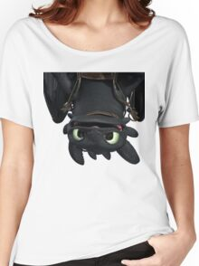 Upside Down Toothless Women's Relaxed Fit T-Shirt