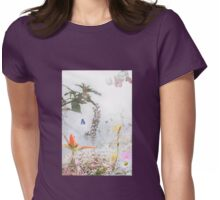 Dream Garden 2 Womens Fitted T-Shirt