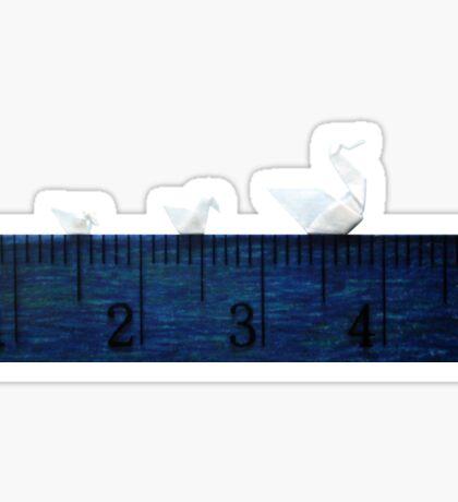 3cm Family Swim Sticker