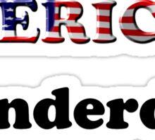 American Underdog - Woman I Sticker