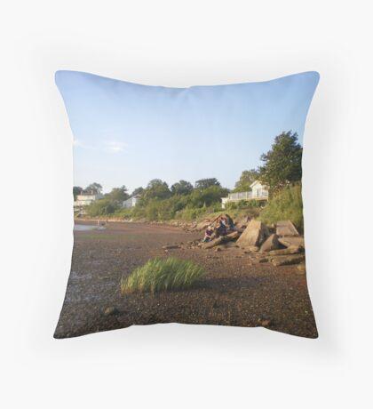 Charlottetown, Nova Scotia, Canada Throw Pillow