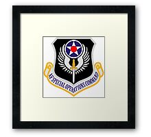Air Force Special Operations Framed Print