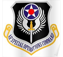 Air Force Special Operations Poster