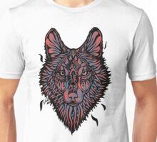 Clasic Wolf Color Paint Unisex T-Shirt