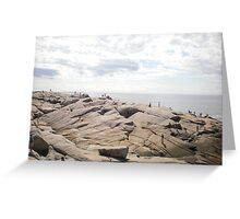 Peggy's cove, Nova Scotia, Canada Greeting Card