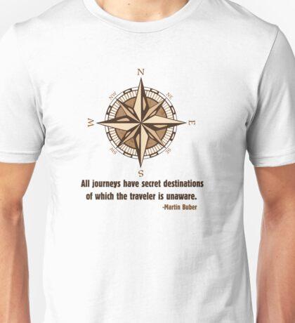 Hiker Wisdom - Martin Buber Unisex T-Shirt