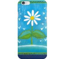 BLUE ROMANCE DAISY DREAM  iPhone Case/Skin