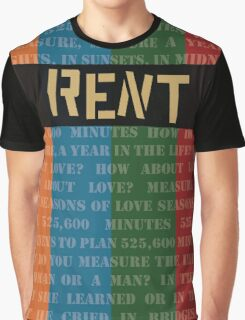 How do you measure a year? Graphic T-Shirt