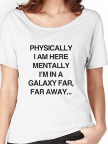 Galaxy Far Far Away Women's Relaxed Fit T-Shirt