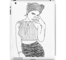Halsey Tumblr Outime iPad Case/Skin