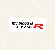 Honda Civic Integra my Blood is Type R Hoodie