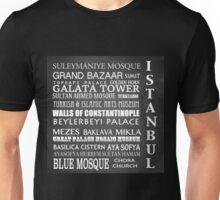 Istanbul Famous Landmarks Unisex T-Shirt