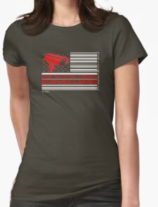 One Nation Under Surveillance Womens Fitted T-Shirt