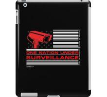 One Nation Under Surveillance iPad Case/Skin