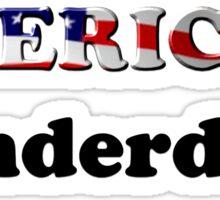American Underdog - Are We Sticker