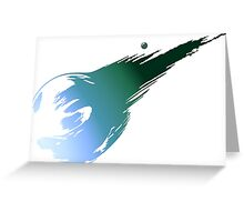 Final Fantasy VII Greeting Card