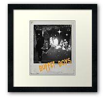 Buffet Boys Framed Print