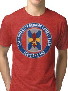 256th Infantry LA ANG Tri-blend T-Shirt