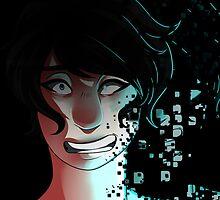Pixel Glitch Girl by infandousArtist