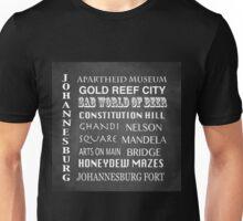Johannesburg Famous Landmarks Unisex T-Shirt