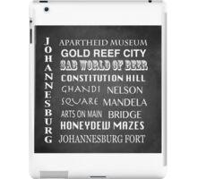 Johannesburg Famous Landmarks iPad Case/Skin