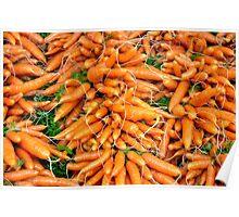 Little carrots Poster
