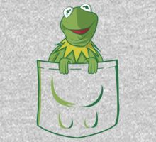 Kermit Pocket - muppet show One Piece - Long Sleeve