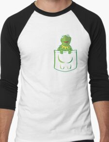 Kermit Pocket - muppet show Men's Baseball ¾ T-Shirt