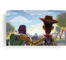 Toy Story - Buzz and Woody Canvas Print