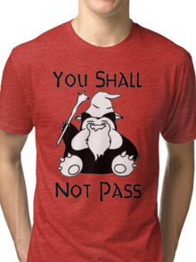 YOU SHALL NOT PASS! Tri-blend T-Shirt