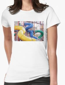 Kids Play Ground - Series 4 Womens Fitted T-Shirt