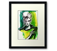 Miss Fierce Framed Print