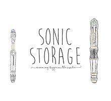 Sonic Storage Photographic Print