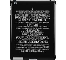 Akhaten Speech iPad Case/Skin