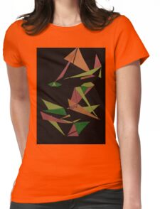 Layer Face Womens Fitted T-Shirt