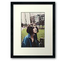 Kaya Scodelario Framed Print