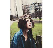Kaya Scodelario Photographic Print