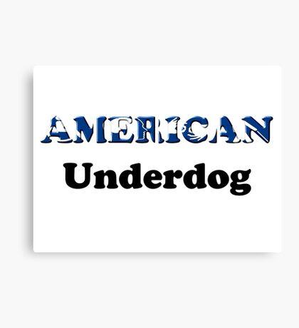 American Underdog - Disabled Yet Empowered Canvas Print
