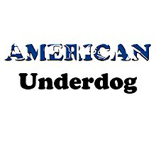 American Underdog - Disabled Yet Empowered Photographic Print