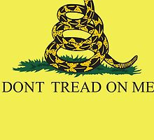 The Gadsden flag by sundburgdesign