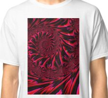 Red Brocade Classic T-Shirt