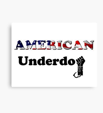 American Underdog - Freedom Canvas Print
