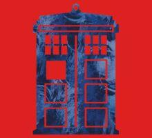 Tardis Watercolor - Doctor Who Baby Tee