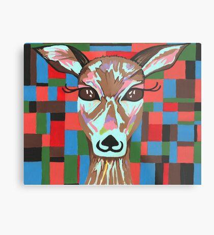 Darling Deer Metal Print