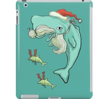 Christmas Whale iPad Case/Skin