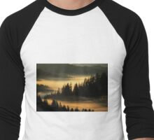 First Light at Indian Valley - Suislaw National Forest Men's Baseball ¾ T-Shirt