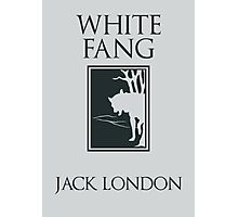White Fang Jack London book cover Photographic Print
